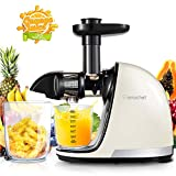 Slow Juicer,AMZCHEF Slow Masticating Juicer Extractor Professional Machine with Quiet Motor/Reverse...