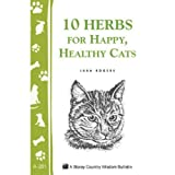 10 Herbs For Happy, Healthy Cats - Book by Lura Rogers