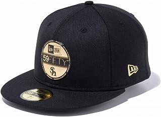 ◎ニューエラ(NEW ERA) キャップ 59FIFTY NPB バイザーステッカー 福岡ソフトバンクホークス ブラック × ゴールド 11901290 帽子
