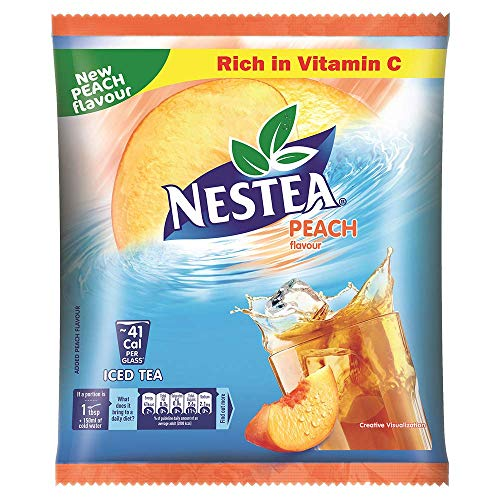 Nestea Instant Iced Tea, Peach Flavour, 400g Pouch