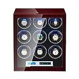 ZNND Watch Caja Relojes Automaticos 15 Modos De Rotación Almohadilla Ajustble...