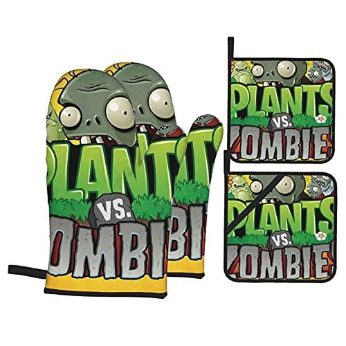 Plants vs Zombies Ofenhandschuhe und...