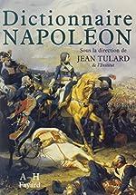 Dictionnaire Napoléon de Jean Tulard