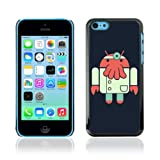 CelebrityCase Polycarbonate Hard Back Case Cover for Apple iPhone 5C ( Zoidberg Android )