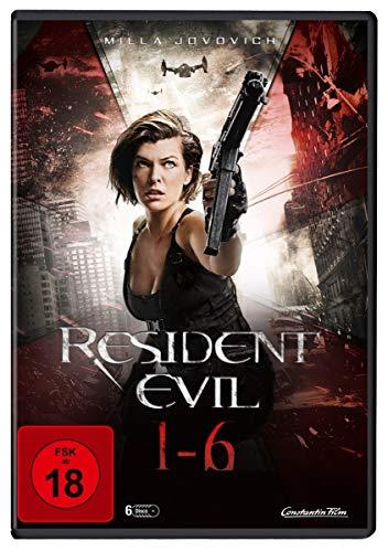 Resident Evil 1-6 [6 DVDs]