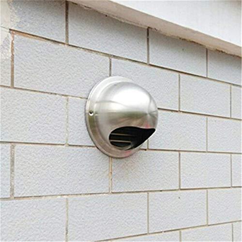 Shuxiang-rejilla de ventilación Conductos de ventilación Rejilla de escape de la cubierta, de acero inoxidable de la pared de techo salida de aire, Enchufe Calefacción Refrigeración ventilación de la