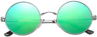 COASION Retro Small Round Polarized Sunglasses John Lennon Style Circle UV400 Sun Glasses