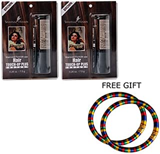 Shahnaz Husain Touch Up Plus Hair Color Brown - (Set Of 2) - (Pair Of Multicolor Bangles) by Shahnaz Husain