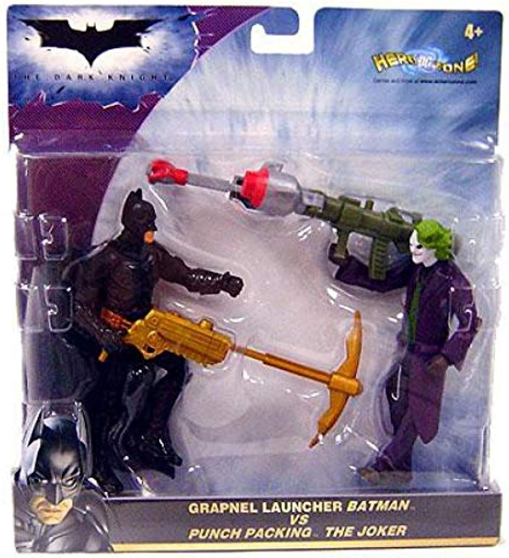 Dark Knight Deluxe  Batman Vs Fear Shot Scarecrow Action Figure 2 Pack