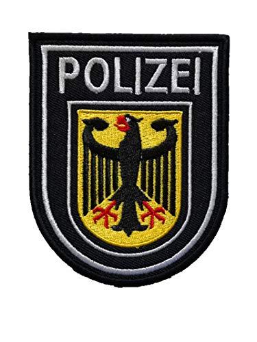 Aufnäher Deutschland Polizei Republik Deutschland Adler Deutschland Flagge Polizisten Militär Haken Taktik Moral bestickt Patch