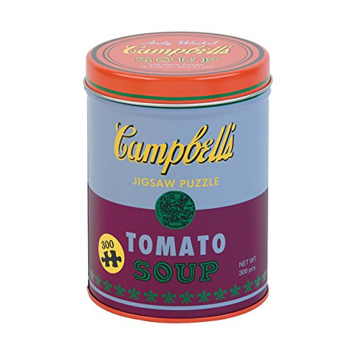 Puzzle, Andy Warhol Soup Can Red Violet 300 Piece Puzzle