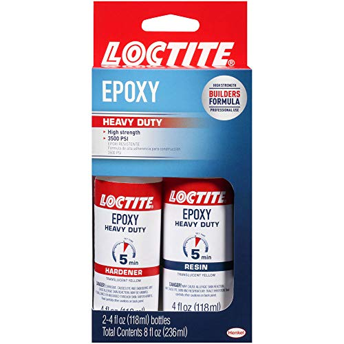 Loctite Heavy Duty Epoxy Quick Set 8-Fluid Ounce Bottle (1365736)