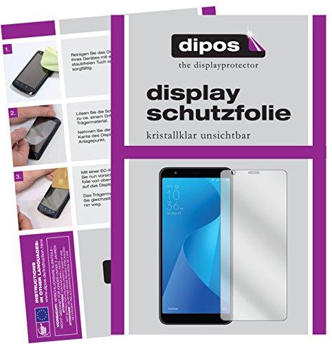 dipos I 2X Schutzfolie klar kompatibel mit Asus ZenFone Max Plus M1 (ZB570TL) Folie Bildschirmschutzfolie