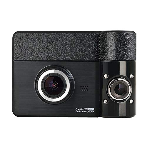 La grabadora de conducción del DVR del automóvil, la pantalla táctil IPS de 2.31 pulgadas, la lente dual, la lente se puede girar 270 grados, 170 grados de gran angular, cámara de tablero de paneles d