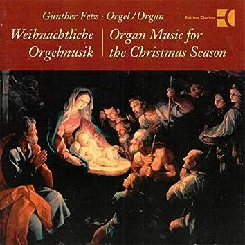 Organ Music for the Christmas Season (Metzler-Organ, Frastanz, Austria)