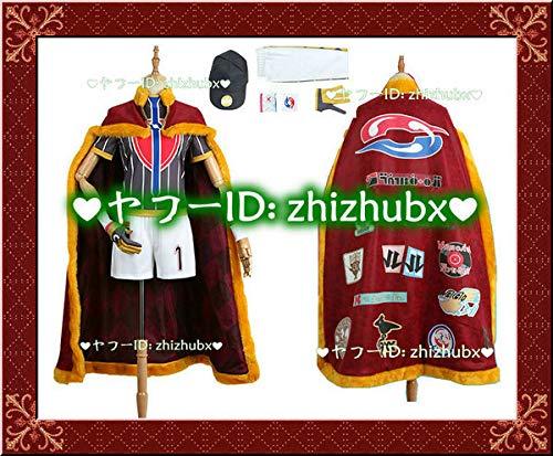 zhizhubx出品 ポケットモンスターソード・シールド ポケモン剣盾 ダンテ コスプレ衣装 ウィッグ、靴追加可