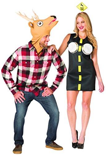 Rasta Imposta Deer in Headlights Couple Costume