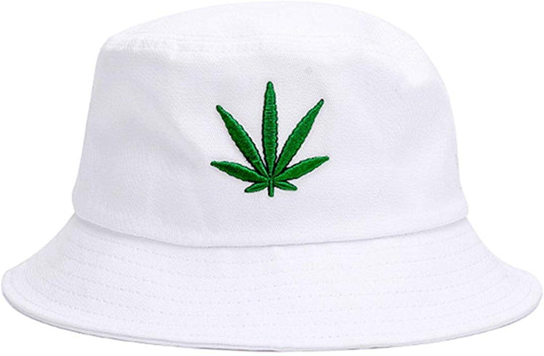 Joylife Marijuana Leaf Bucket Hat Cannabis Weed Fisherman Cap Packable Sun Hats