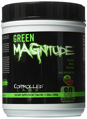 Controlled Labs Green Magnitude Powder, 800 g, Juicy Watermelon