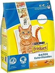 Purina Friskies - Alimento para Gatos Esterilizados con Pavo y Verduras - 3 kg