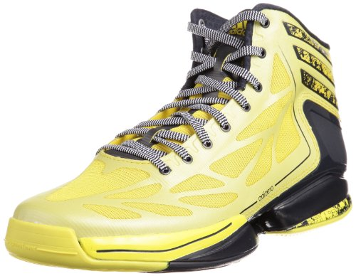 adidas Herren Adizero Crazy Light 2 Basketballschuhe, Gelb (Vivid Yellow S13 / Dark Navy/Running White FTW), 46 2/3 EU