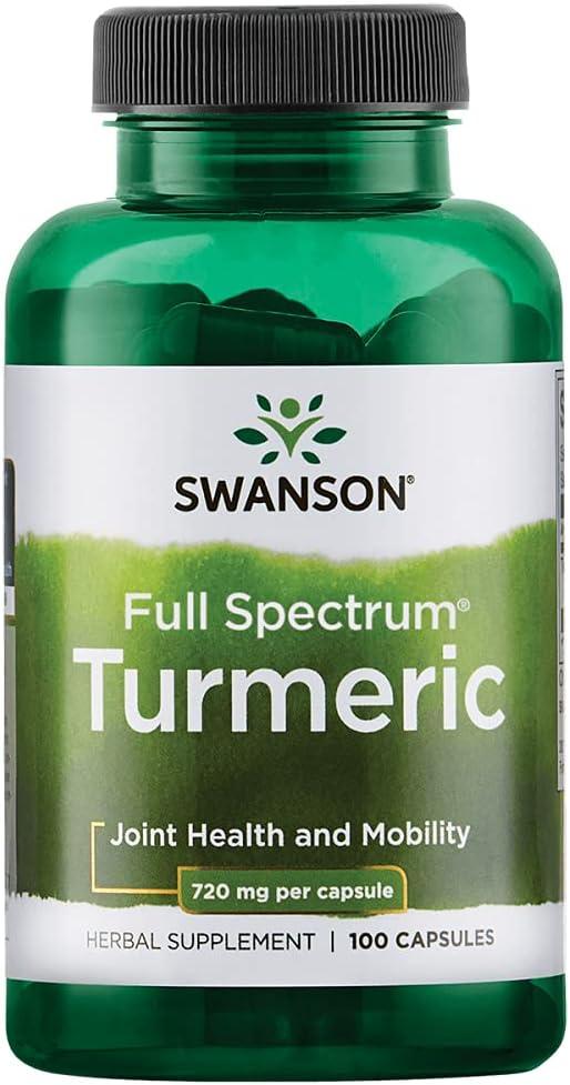 2021 new Swanson Ranking TOP4 Premium Brand Turmeric Whole Root 720 100 Powder Ge mg