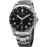 Victorinox 241650 - Reloj, Correa de Acero Inoxidable Color Plateado