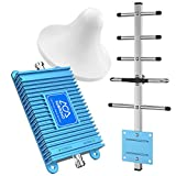 Cell Phone Booster Home 850MHz Band 5 2G GSM 3G CDMA 4G LTE FDD Verizon Mobile Phone Signal Amplifier ATT Repeater Cell Signal Booster Use Home/Office/Warehouse/Basement/Garage
