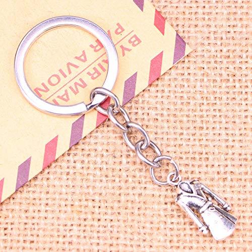TAOZIAA Fashion Sleutelhanger 23x11mm overjas trenchcoat hangers DIY Mannen Sieraden Auto Sleutelhanger Ring Houder Souvenir Voor Gift