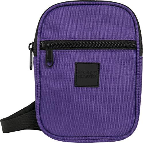 Urban Classics Festival Bag Small Umhängetasche, 19 cm, Ultraviolet