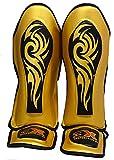 Espinilleras De MMA Hombres Muay Thai Empeine Pierna Protector De Engranajes Almohadillas Para Artes Marciales, Kickboxing, BJJ, Kárate Taekwondo Almohadillas Para Calcetines De Sparring Empeine