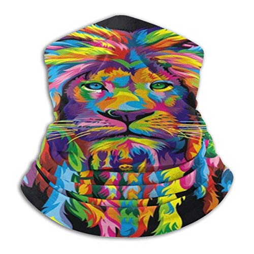 Lion Rasta Neck Gaiter Warmer Skisack Winddicht