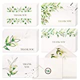 Greenery Watercolor Thank You Cards: Nowadays, a handwritten thank you card or personal note goes further for those occasions where you need to express your sympathy or gratitude to the people you appreciate; Lovely and elegant, our eucalyptus thank ...
