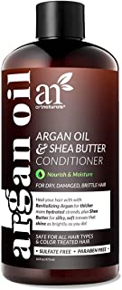 ArtNaturals Argan Oil Hair Conditioner - (16 Fl Oz / 473ml) - Sulfate Free - Treatment for Damaged and Dry Hair - For All Hair Types - Safe for Color Treated Hair