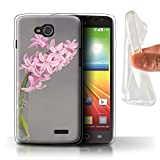Stuff4® Pink Fashion Collection LG-GC - Cover o Skin per Smartphone LG Hyacinth LG L90/D405