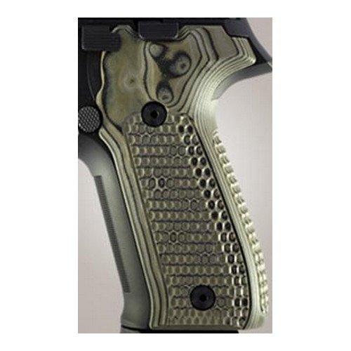 Hogue Sig P226 Grips (Pirahna G-10 G-Mascus), Green
