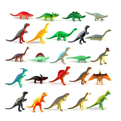 shenruifa Dinosaurier Adventskalender 2020 Weihnachts Adventskalender Geschenke Spielzeug 24 Stück Realistische Dinosaurier Figuren Spielzeug für Jungen Und Mädchen Lernspielzeug
