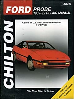 Ford Probe, 1989-92 (Chilton's Total Car Care Repair Manual)