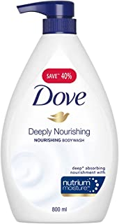 Dove Deeply Nourishing Body Wash, 800 ml