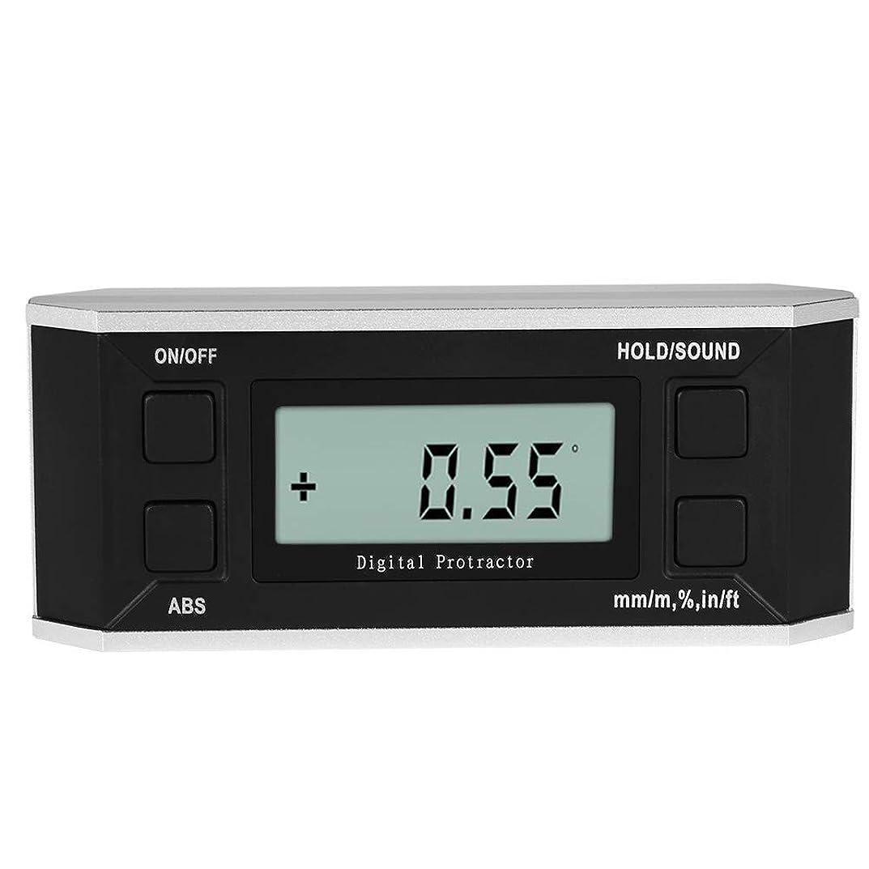 有名人招待称賛4*90° 3 in 1デジタルアングルメーター デジタル分度器 デジタル角度計 デジタル傾斜計 デジタルブルーレベル バブルルーラー 高精度
