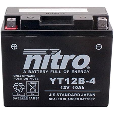 Nitro Yt12b 4 N Batteries Schwarz Preis Inkl Eur 7 50 Pfand Auto