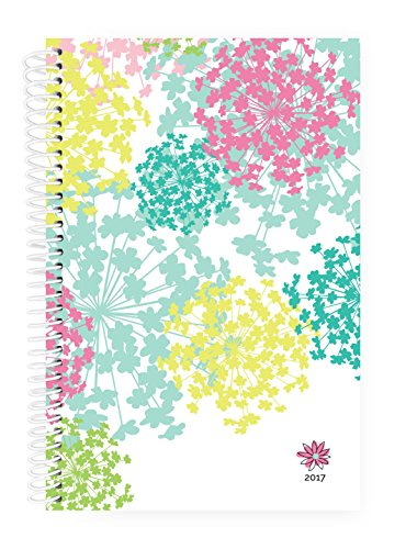 """Bloom Daily Planners 2017 Calendar Year Daily Planner - Passion/Goal Organizer - Fashion Agenda - Weekly Diary - Monthly Datebook Calendar - January 2017 - December 2017-6"""" x 8.25"""" - Bloom"""