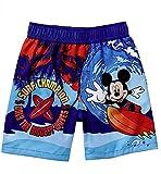 Disney Mickey Mouse Swim Trunks Shorts Swimwear Little Boys' (3-6...