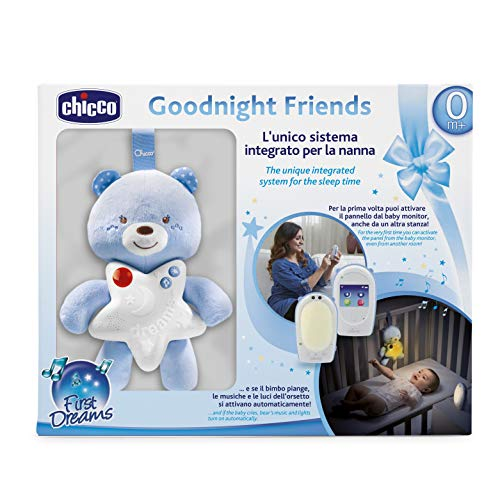 Chicco Good Night - Vigilabebés de audio con panel de cuna y...