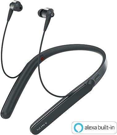 ソニー SONY ワイヤレスノイズキャンセリングイヤホン WI-1000X : Bluetooth/ハイレゾ対応 最大10時間連続再生 カナル型 マイク付き 2017年モデル ブラック WI-1000X B