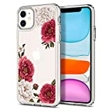 Spigen Cyrill Ciel Cecile Series Case Designed for iPhone 11 (Red Floral) i phone bumper Mar, 2021