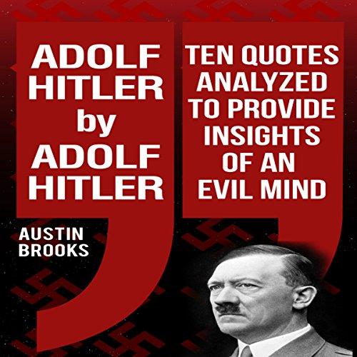 Adolf Hitler by Adolf Hitler audiobook cover art