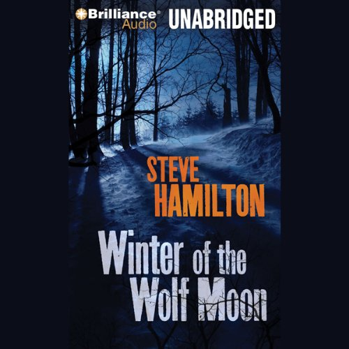 Winter of the Wolf Moon audiobook cover art