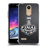 Head Case Designs Licenciado Oficialmente NHL Rayas Final de la Stanley Cup 2021 Carcasa de Gel de Silicona Compatible con LG K8 / K9 (2018)