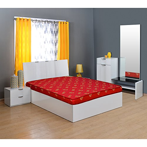 @home By Nilkamal Value+ 4-inch Single Size Foam...